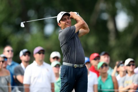 Francesco Molinari tied for second at last year's PGA