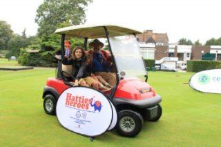 The golf day was set up for Hattie Dexter