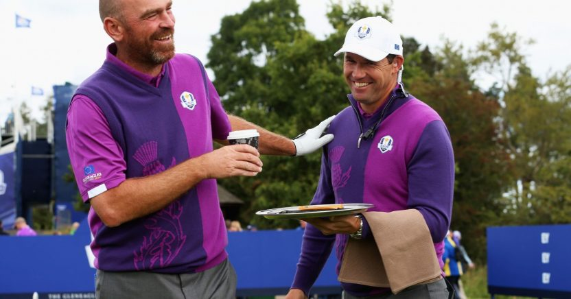 Bjorn and Harrington were vice captains at Gleneagles in 2014